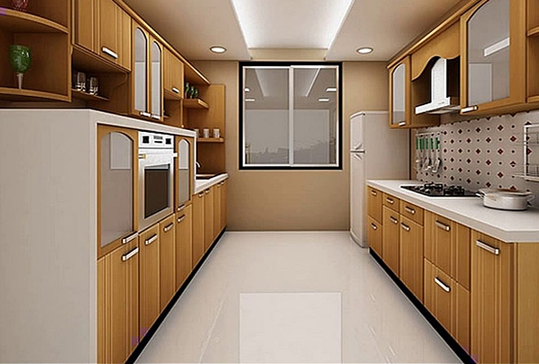 small parallel kitchen design. Parallel Kitchen Maple Kitchens